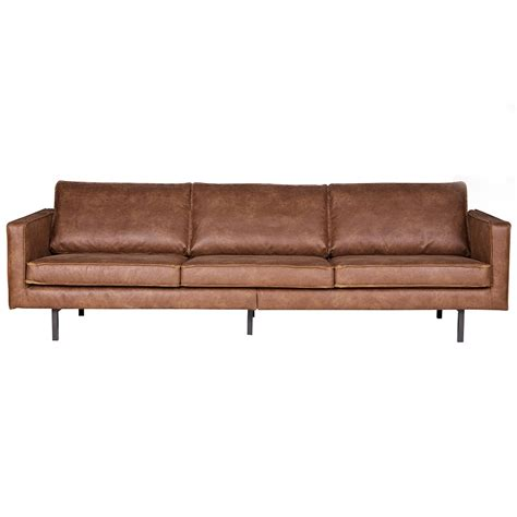 pure leather sectional sofas rodeo 3 seater leather sofa in tan be pure home cuckooland