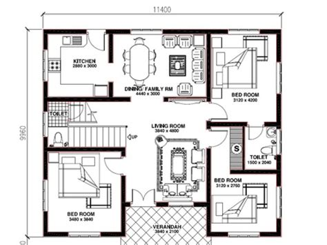 floor plans kerala style houses kerala vasthu house plans house design plans