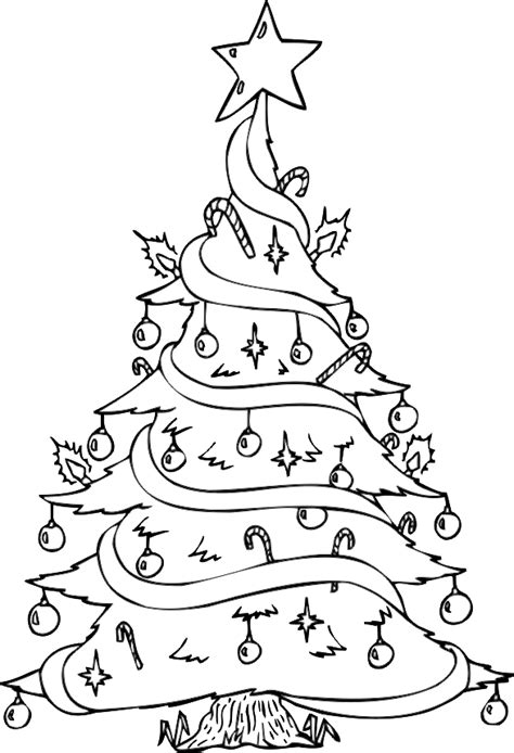 Christmas tree coloring sheets for christmas tree coloring happy