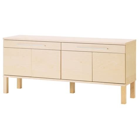 bjursta sideboard birch veneer ikea furniture for