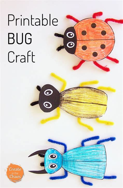 printable arts and crafts 1000 ideas about insect crafts on pinterest bug crafts