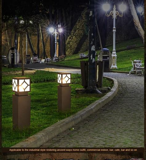 Outdoor Garden Led Lights The Lawn Outside The Square Led Lights Europeanism Courtyard Lights Garden Lights Outdoor