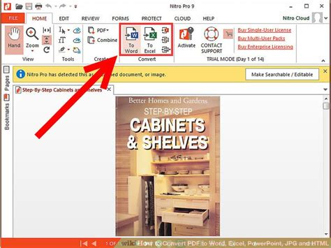 convert pdf to word excel or powerpoint how to convert pdf to word excel powerpoint jpg and html
