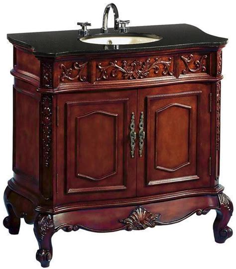43 inch vanity top for bathroom 43 inch bathroom vanity traditional classic cherry cabinet