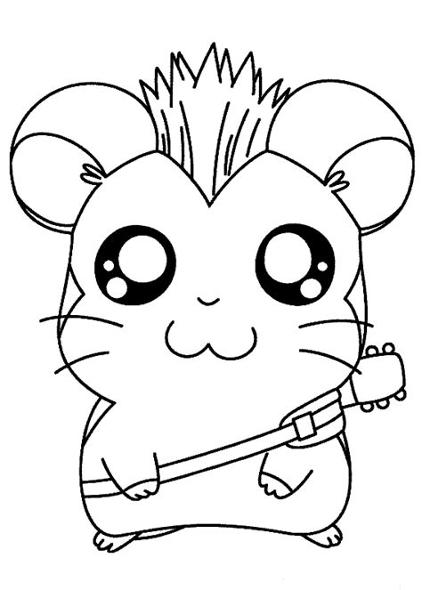 pets coloring pages free printable hamster coloring pages