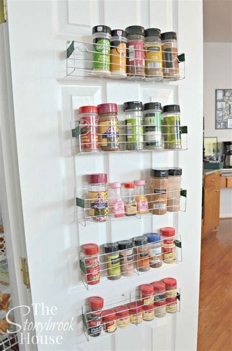 counter space small kitchen storage ideas 10 borderline brilliant ways to store spices and save