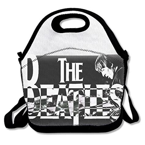 The Beatles Black Logo black logo the beatles unisex lunch bags for kid