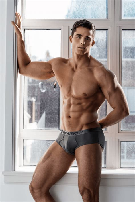 bench body male models pietro boselli for bench body 2017 caign male celeb