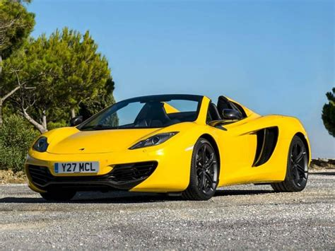 2014 mclaren mp4 12c convertible sport car for sale mike