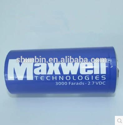 maxwell ultracapacitor buy capacitor 2 7v 3000f ultracapacitor maxwell