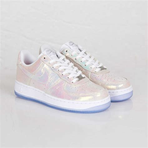 Nike Airforce One Gliter 1 nike air 1 07 premium prm qs iridescent pearl 704517 100 max japan nsw ebay