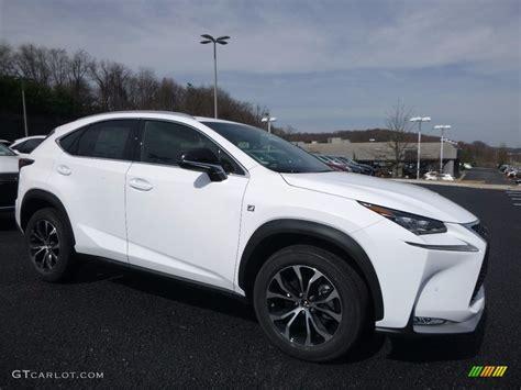 white lexus 2017 interior 2017 ultra white lexus nx 200t f sport awd 119771498