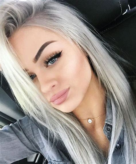 silver blonde hair color 25 best ideas about silver blonde hair on pinterest