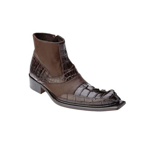 belvedere boots belvedere drago hornback calfskin boots brown