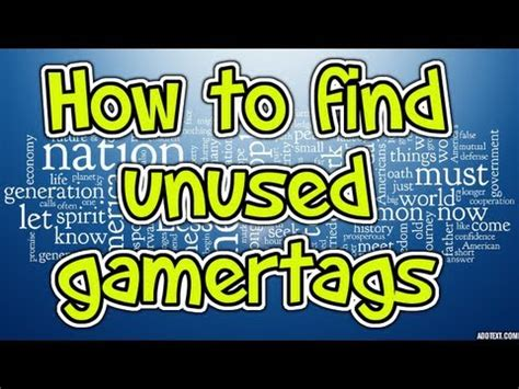 How To Find On Xbox Live Free 4 Letter Gamertags X3 Xbox Live Doovi