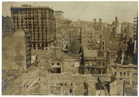 City Of San Francisco Records San Francisco Earthquake Of 1906