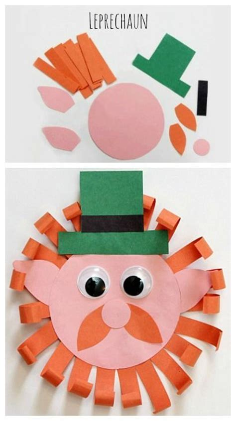 S Day Paper Crafts - leprechaun craft pour enfants activit 233 s manuelles pour