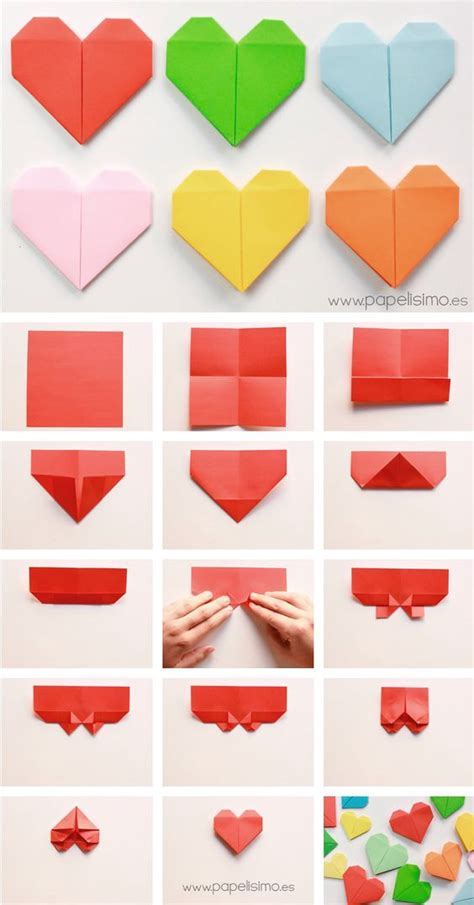 5 Note Origami - origami paper notes and bookmarks on