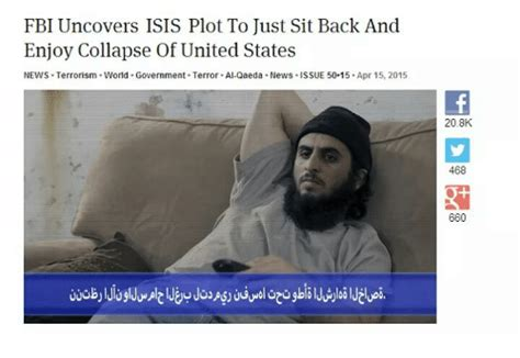 Just Sit Back And Enjoy by Fbi Uncovers Plot To Just Sit Back And Enjoy Collapse