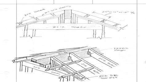 gable roof detail drawings roof covers exles gable