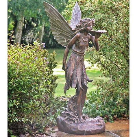 fairy garden statues large standing fairy resin garden statue garden statues