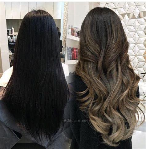 dark ash blonde balayage on dark hair ash blonde balayage on dark brown hair