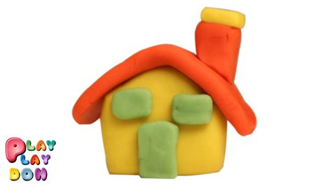 how to house an learn how to make a play doh house play doh for children by play playdoh