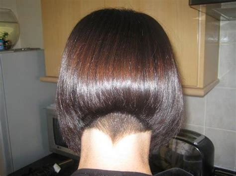 haircuts for nape of neck cowlick tapered nape bob haircut haircuts models ideas