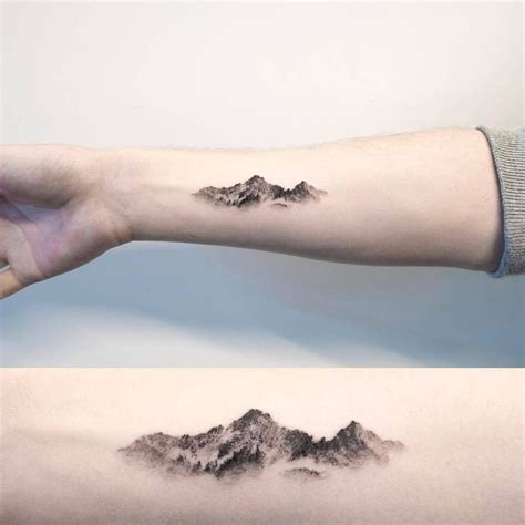 minimalist tattoo artist toronto image result for mountain tattoo style pinterest