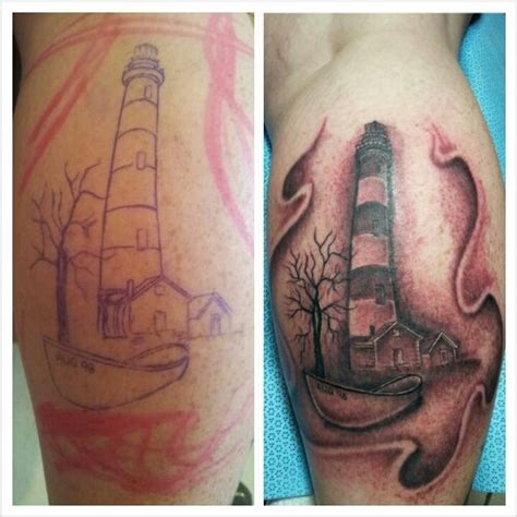 lighthouse tattoos by turkey