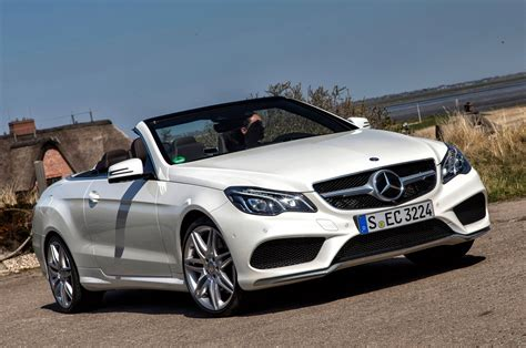mercedes convertible 2014 mercedes benz e class coupe and cabriolet first drive