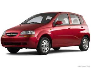 2006 chevrolet aveo hatchback specifications pictures prices