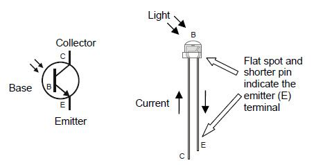 photodiode terminals introducing the phototransistor learn parallax