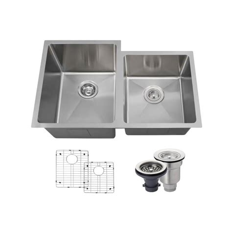 Mr Direct All In One Undermount Stainless Steel 31 1 4 In Mr Direct Kitchen Sinks Reviews