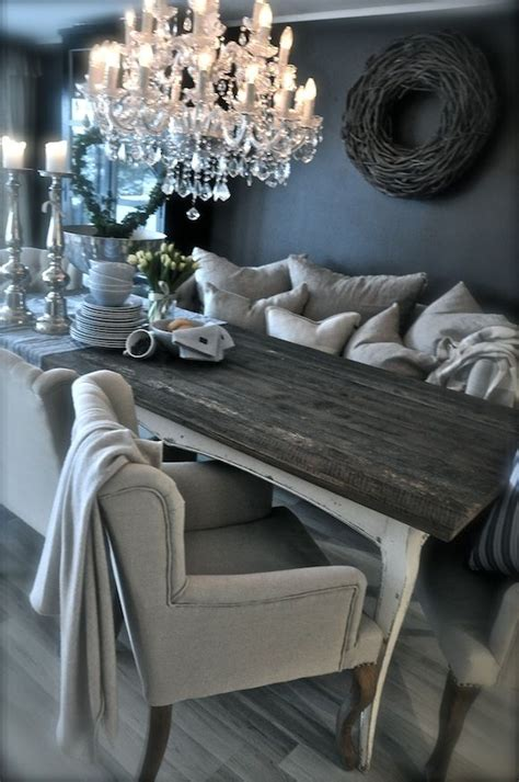 rustic glam love home decor design pinterest love everything about this dark walls neutrals cozy