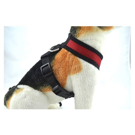 dog comfort harness comfort soft mesh padded adjustable dog puppy comfortable