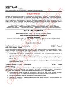 Resume Templates For Canadian Teachers Epic Resume Exle Or Sle