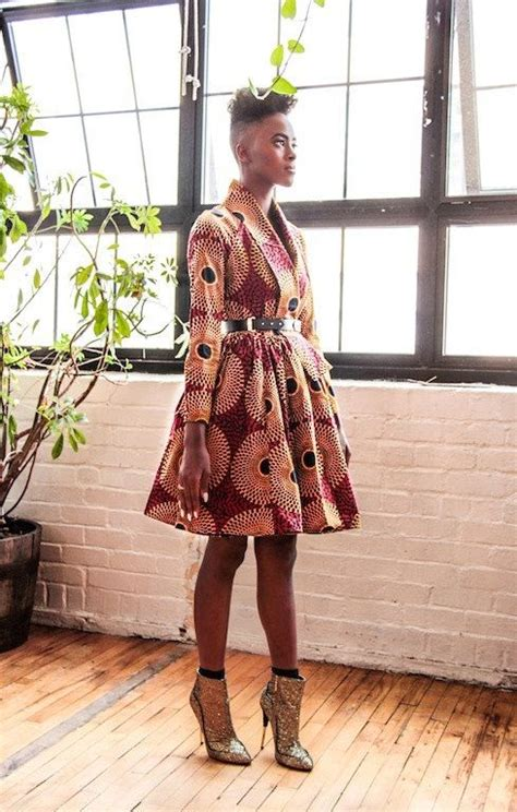 Afro Raglan semi fitted waist w skirt unlined wrap coat dress