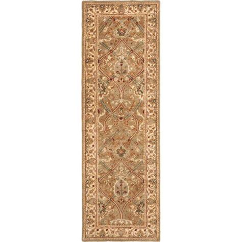 beige green safavieh persian legend light green beige 2 ft 6 in x 12