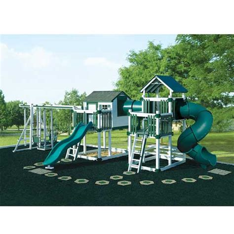swing set tunnel vinyl tunnel escape playhouse swing set