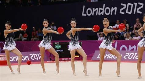 vestidos de gimnasia rtmica en los juegos infantiles londres 2012 las chicas de la gimnasia r 237 tmica a un paso