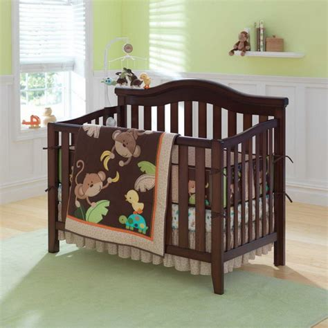 monkey bedding monkey baby crib bedding theme and design ideas family