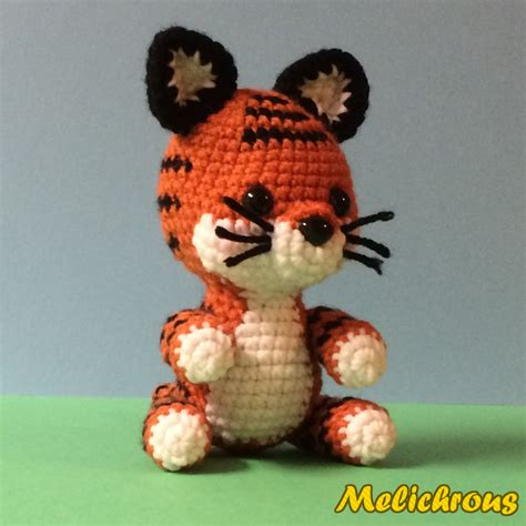 amigurumi pattern tiger melichrous toodles the tiger pattern