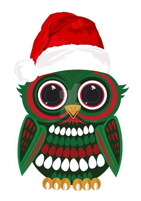 christmas owl pictures owl by adamzworld on deviantart