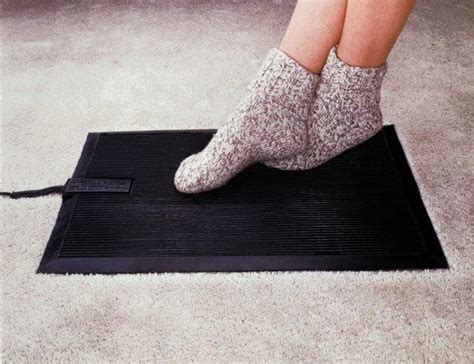 Heated Garage Floor Mats by Heated Floor Mat Heavy Duty Foot Warmer Are Electric