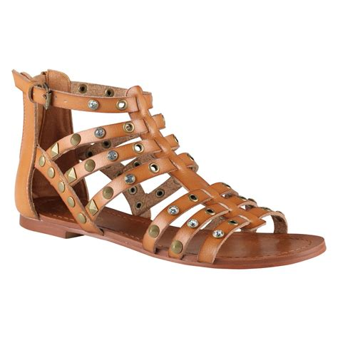 aldo brown sandals aldo brigida flat sandals in brown lyst