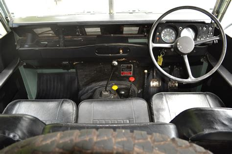 land rover series 3 interior land rover series 3 88 quot 1980 pastel green top