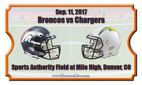 charger vs broncos tickets denver broncos vs los angeles chargers football tickets