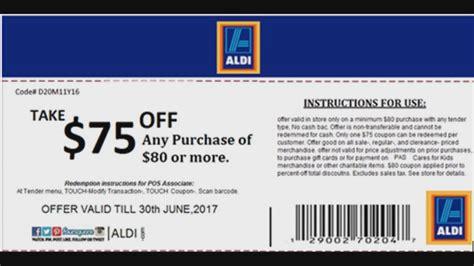 printable aldi vouchers verify is the aldi coupon on facebook real wltx com