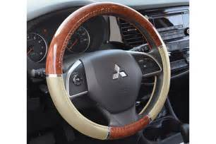 Steering Wheel Covers For Cars Proz Burlwood Steering Wheel Cover Free Shipping